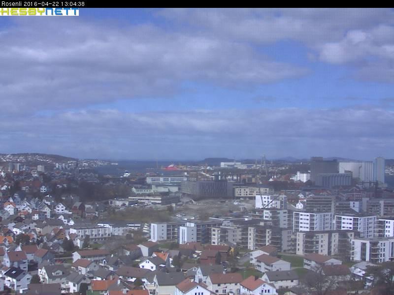Stavanger - Rosenli mot Storhaug/Lervik